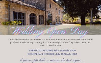 Wedding Open Day – 10/11 Ottobre 2020